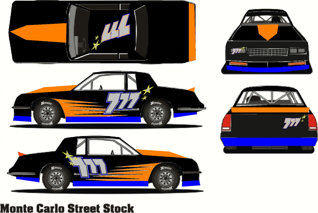 Racecar Pricing - Signs, Graphics, Lettering, Custom